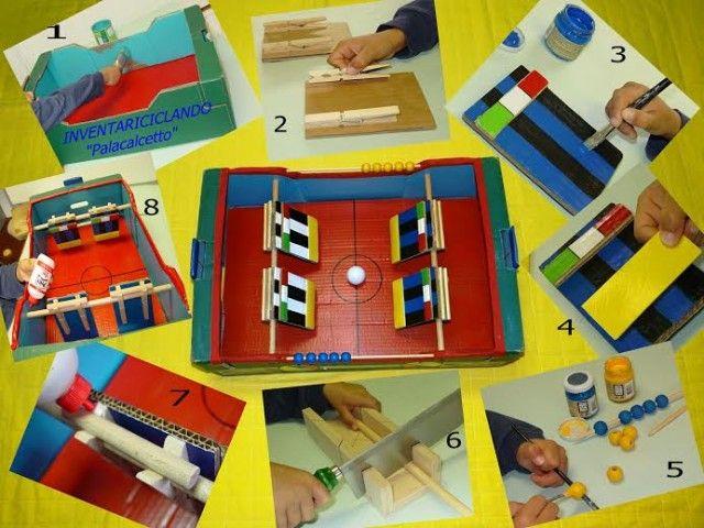 Giochi fai da te per bambini con il riciclo creativo il for Oggetti fai da te semplici