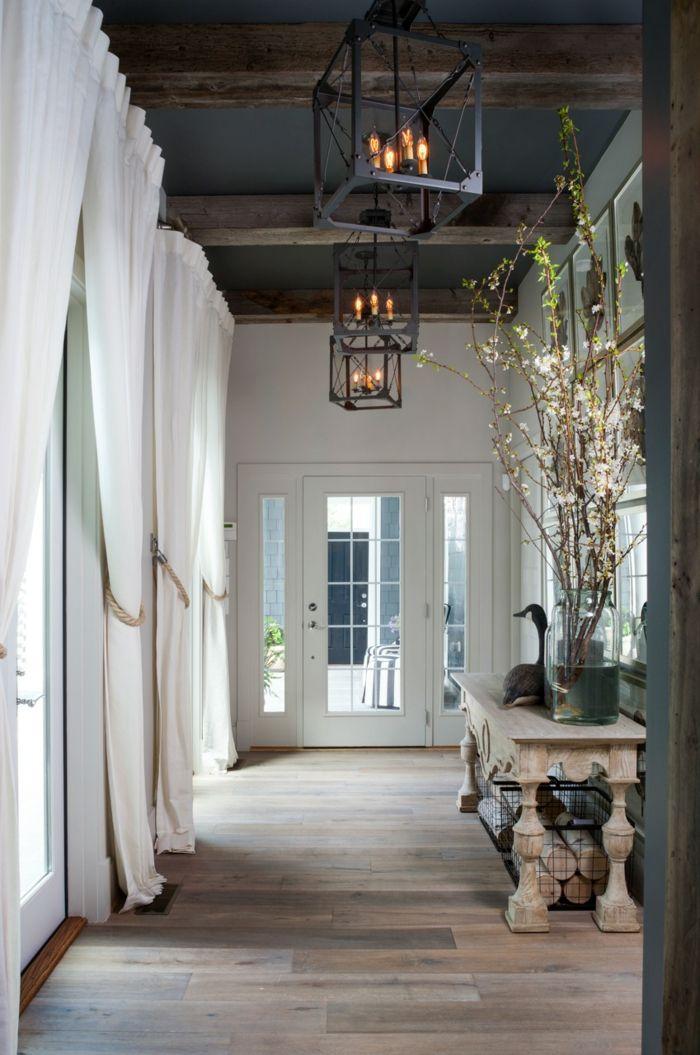 flur gestalten 66 einrichtungsideen f r den flur house and garden pinterest flur. Black Bedroom Furniture Sets. Home Design Ideas