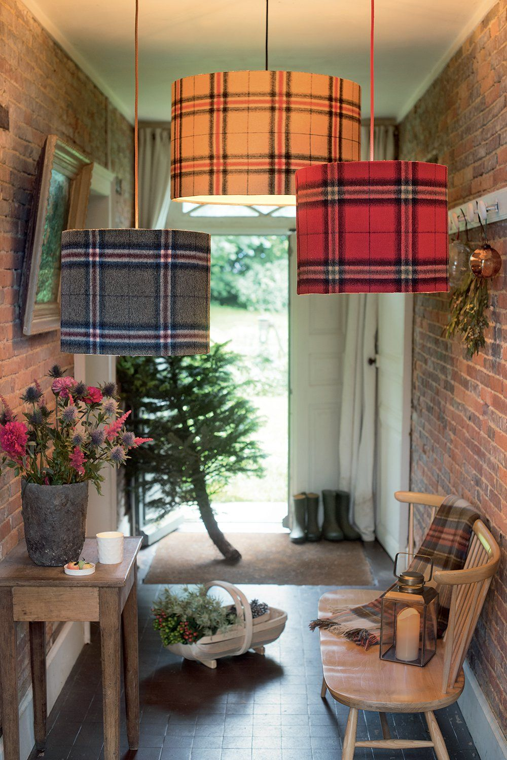 des suspensions lumineuses so british ! | décoration ecossaise