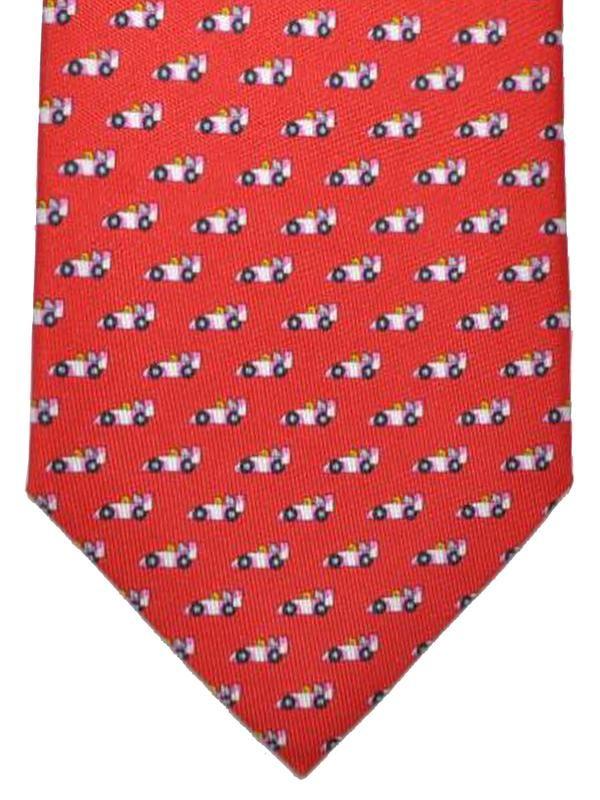 woven tie - Red Salvatore Ferragamo m2U2OrqA4
