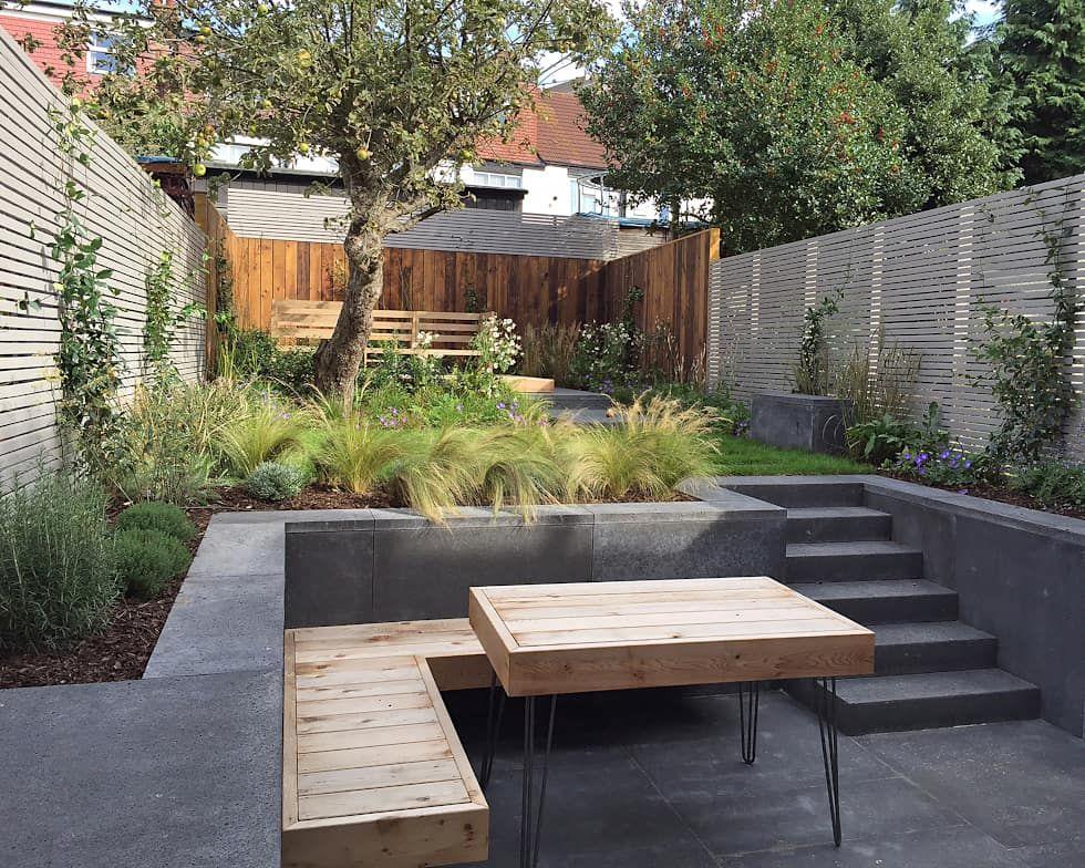 Modern garden by tom massey landscape & garden design is part of Modern garden Decking - Here you will find photos of interior design ideas  Get inspired!