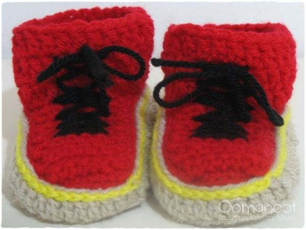 Dr. Martens Baby Booties Pattern (Crochet) free pattern | CRAFTS ...