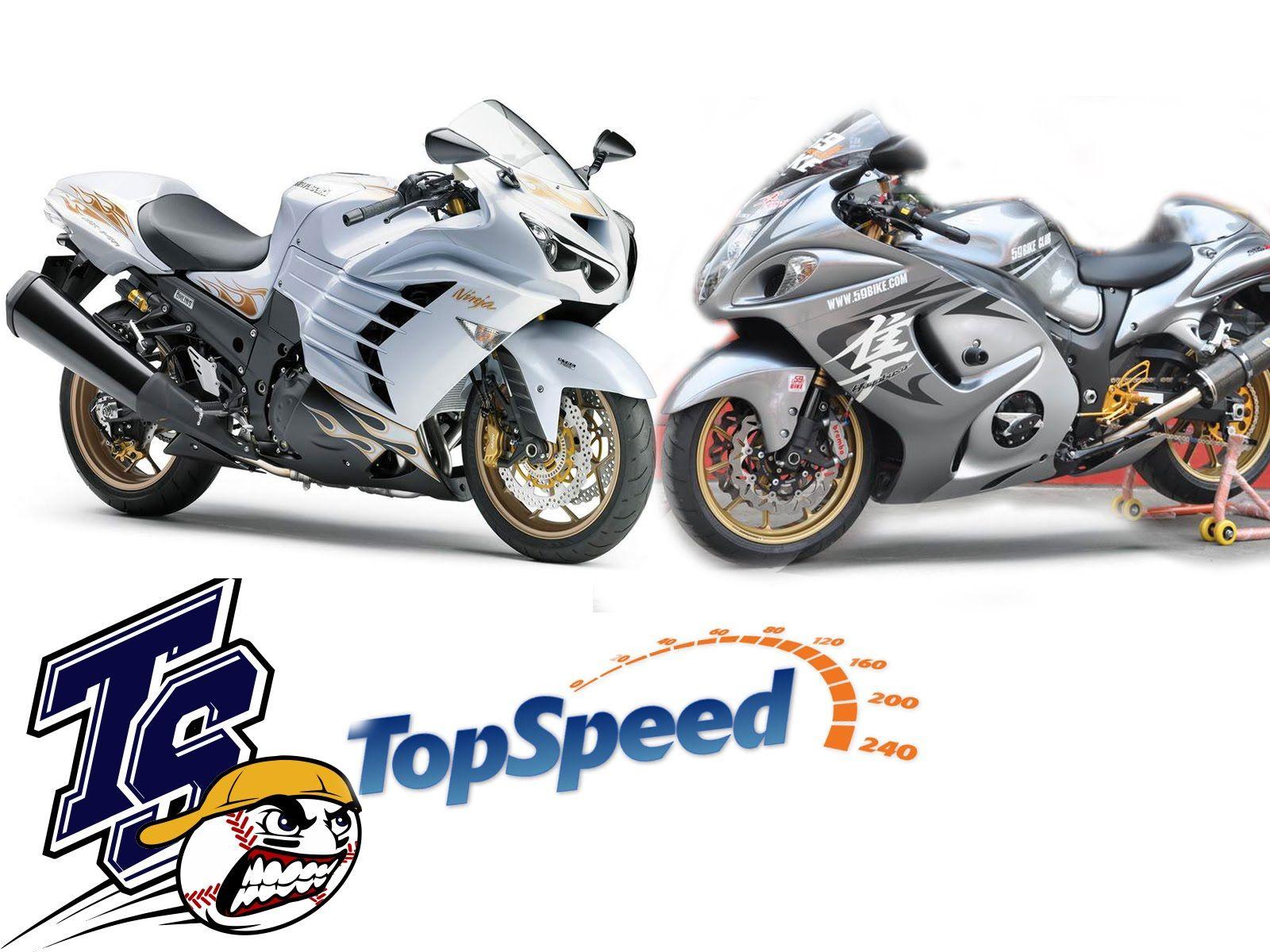 ํTop Speed kawasaki Ninja ZX-14R VS Suzuki Hayabusa Goooo | moteurs ...
