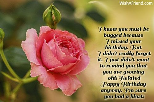 Birthday Wishes Christian Message ~ I know you must be belated birthday belated birthday