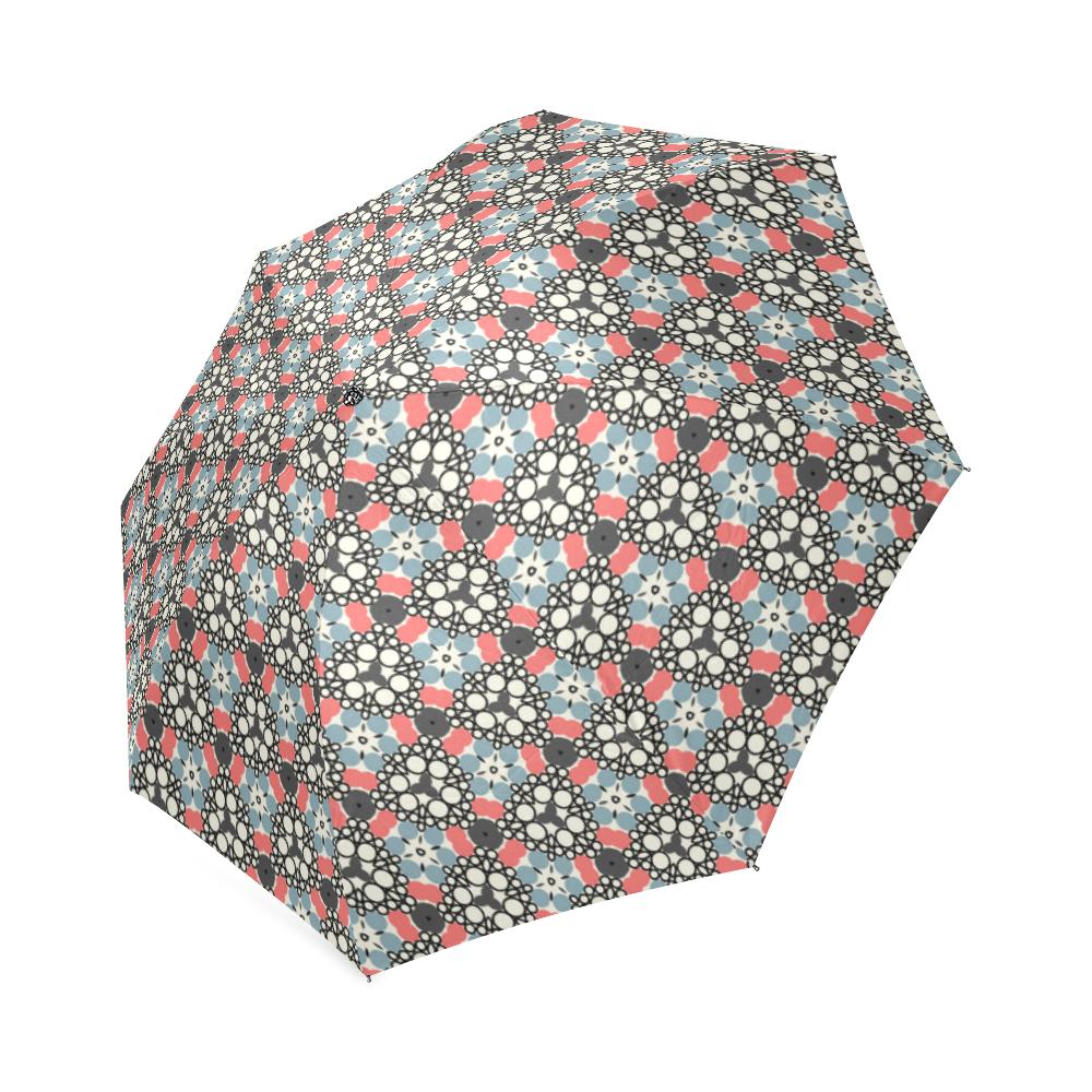 Retro Pattern Foldable Umbrella