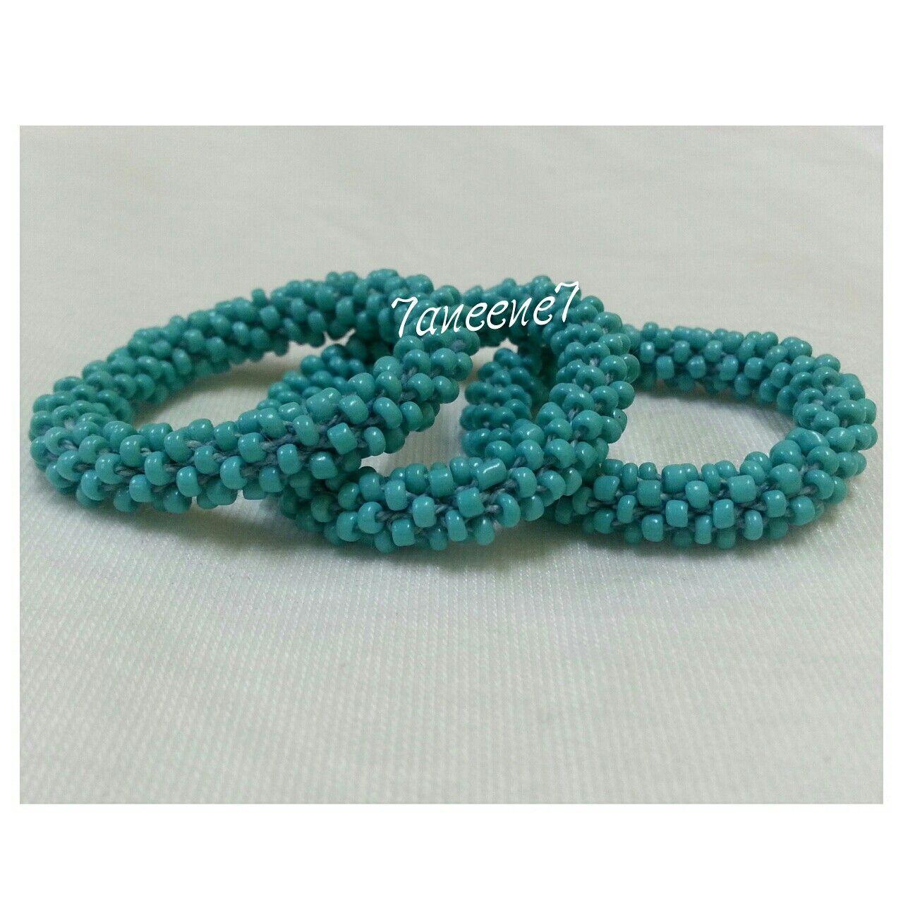 اساور خرز Turquoise Bracelet Diy And Crafts Jewelry