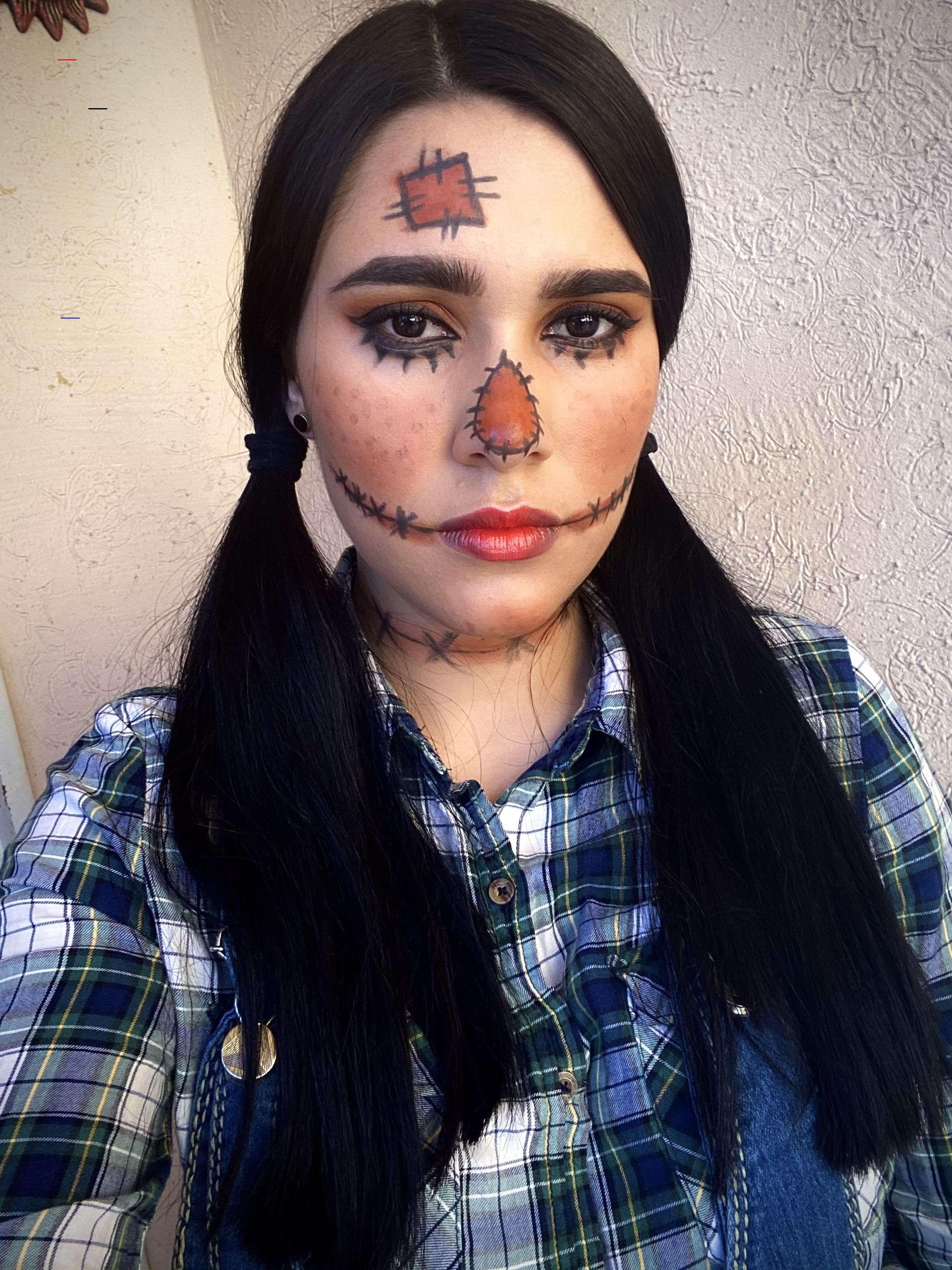 Maquillaje espantapájaros scarecrowmakeup i 2020