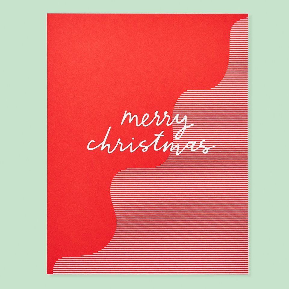 For A Modern Christmas Note Size A2 425 By 55 Inches Folded