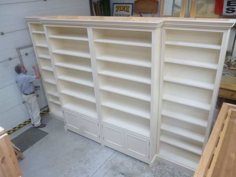 Extra Large Bookcase Yorkshirepine Co Uk Home Of Pond Cottage