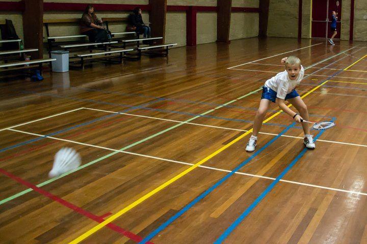 Speedy badminton:-)