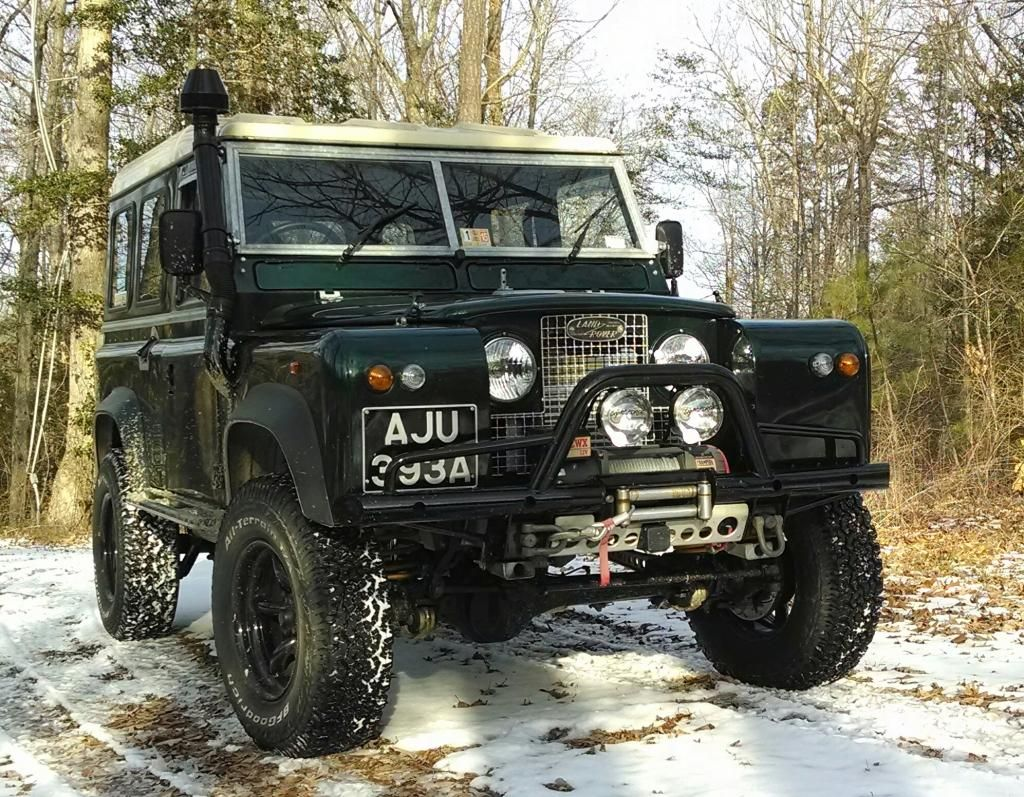 Defender bumper on series ii hybrod land rover pinterest land rover defender landrover defender and land rovers
