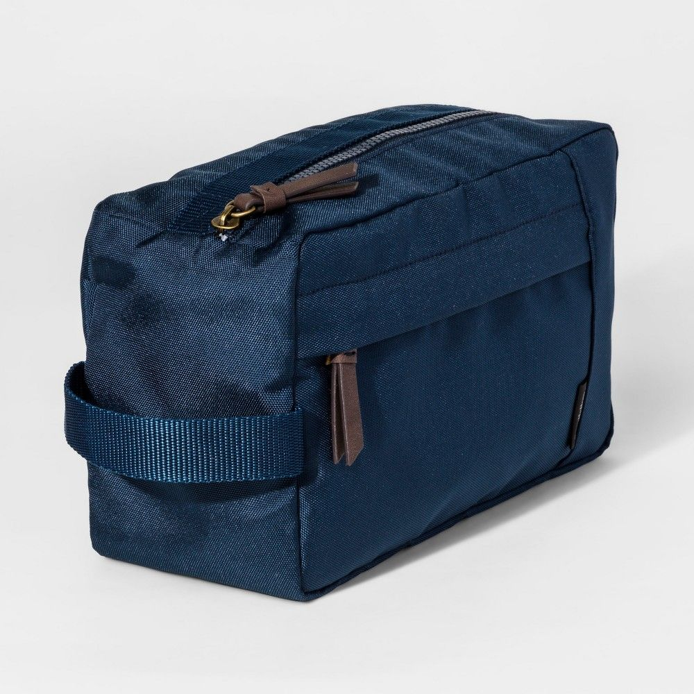 b991af6414 Men s Wash Kit Ballistic Toiletry Kit - Goodfellow   Co Navy (Blue) One Size