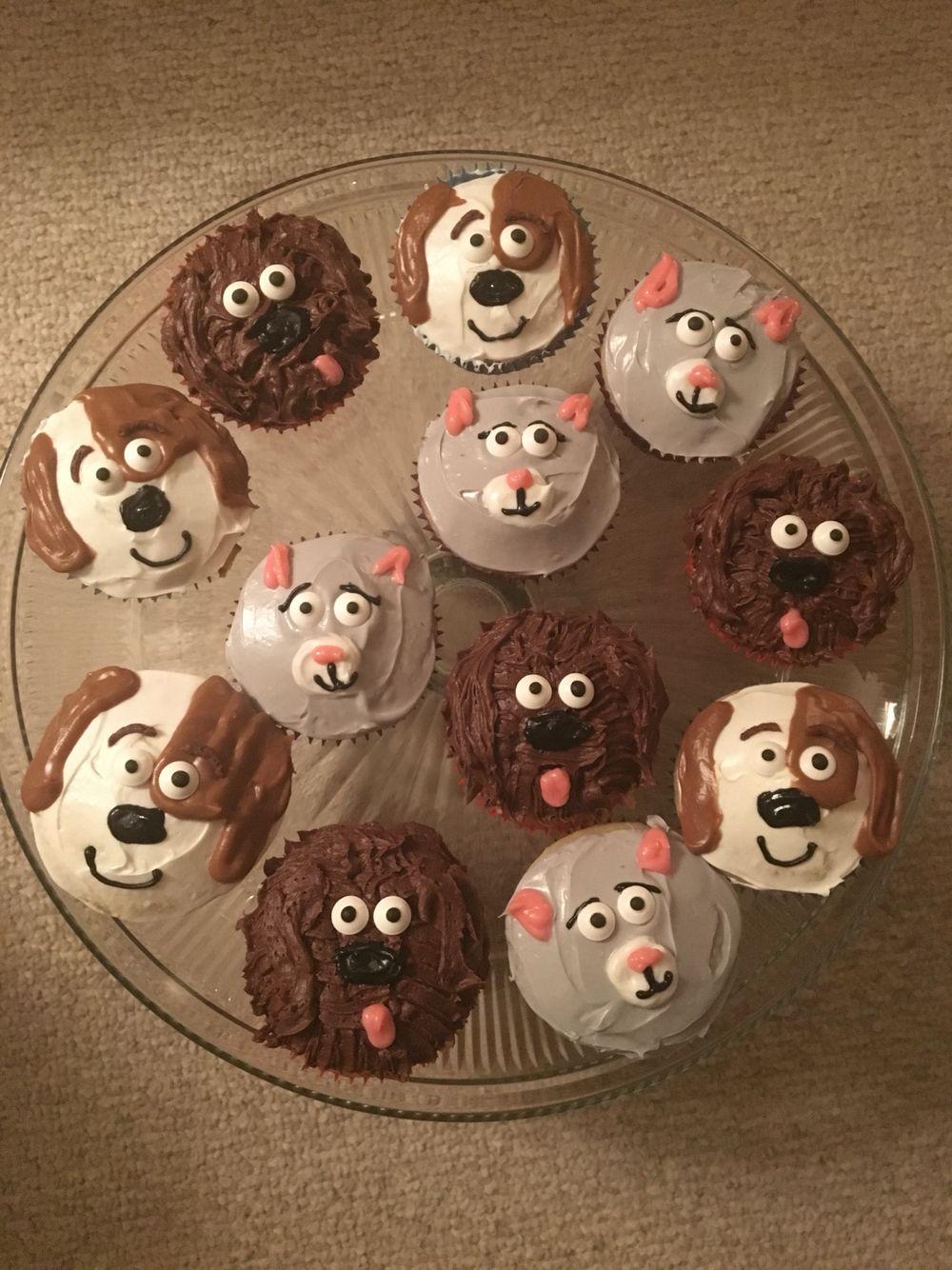 Secret Life Of Pets Cupcakes Secret Life Of Pets Animal Party