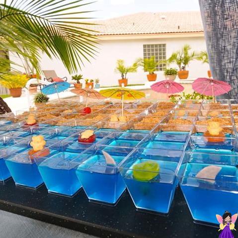 Tema pool party debutante 15 anos birthday for Ideas para cumpleanos en piscina