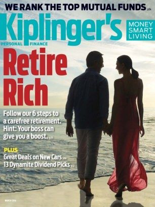 Kiplinger's Personal Finance March 2016 digital magazine - Read the digital edition by Magzter on your iPad, iPhone, Android, Tablet Devices, Windows 8, PC, Mac and the Web.