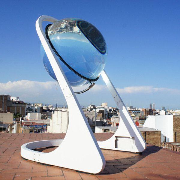 Spherical Solar Power Sonnenkollektor Sonnenenergie Glaskugel