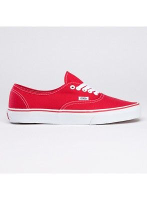93b6b2fff5 Buy cheap Vans shoes authentic core classic canvas sneakers red with fast  delivery and free shipping worldwide.