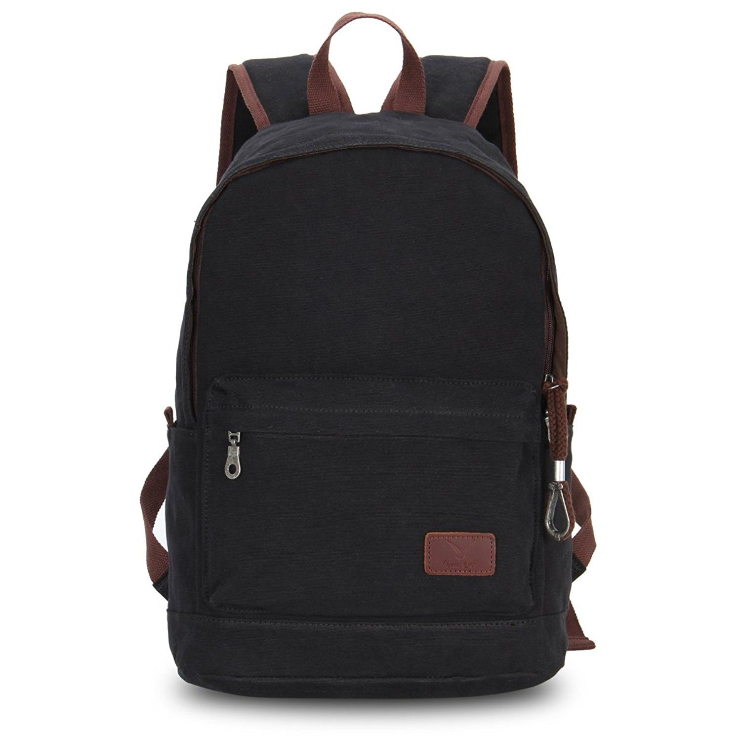 c897b74cd7e6 Hynes Eagle Girls and Boys Canvas Backpack School Rucksack * Quickly ...