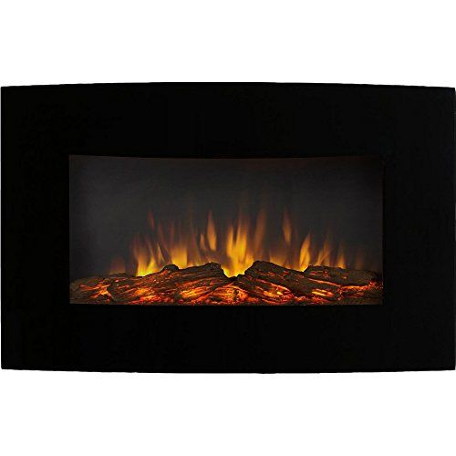 Regal Flame Broadway 35 Inch Ventless Heater Electric Wall Mounted