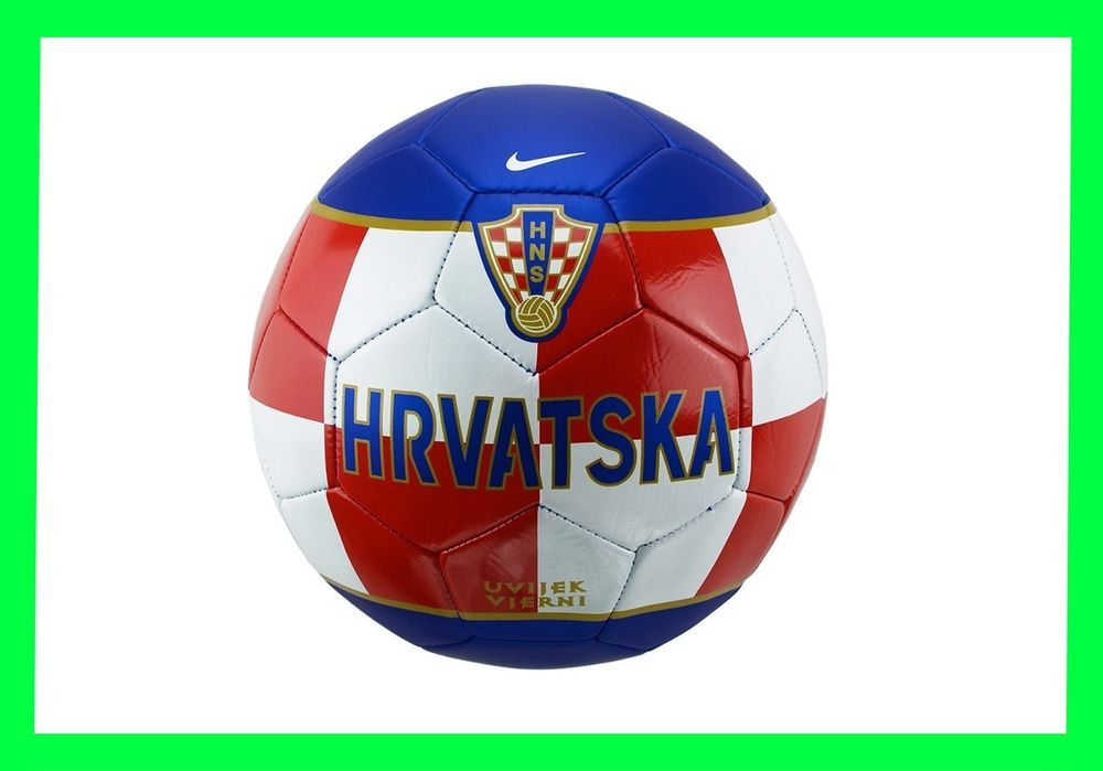 New Ball Soccer Football Croatia World Cup Supporters Fans