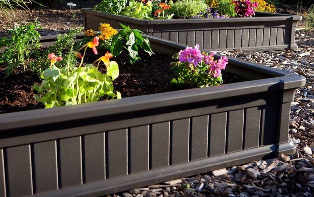 Raised Garden Beds From Ikea With Images Raised Garden Bed