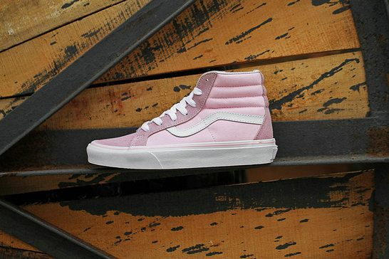 cdc640cf5ad7 Vans Classic SK8 Hi Pink Skate Shoe amazon Recommend Vans For Sale  Vans