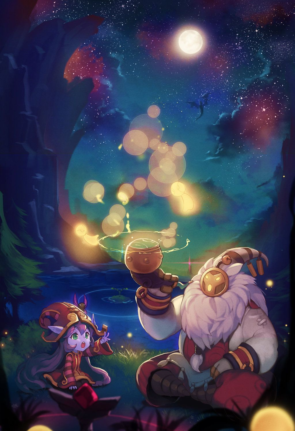 Lulu And Bard League Of Legends Support Lol League Of Legends Champions League Of Legends