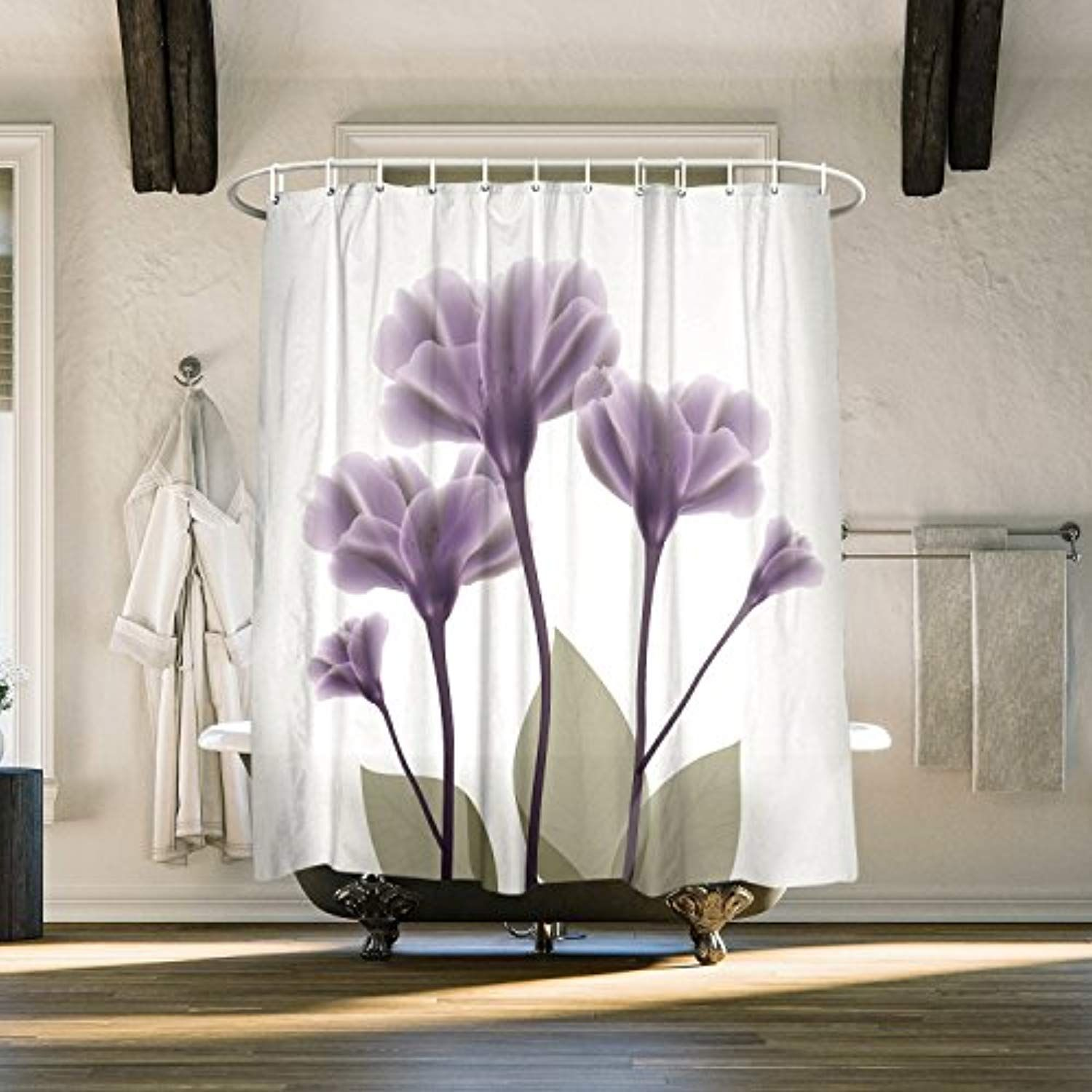 Family Decor Decration Colletion Decor Lavender Hope Shower Curtain Fabric Liner 72x78 Inch Read More At The Image Link This Is An Affil Fabric Shower Curtains Decor Curtains