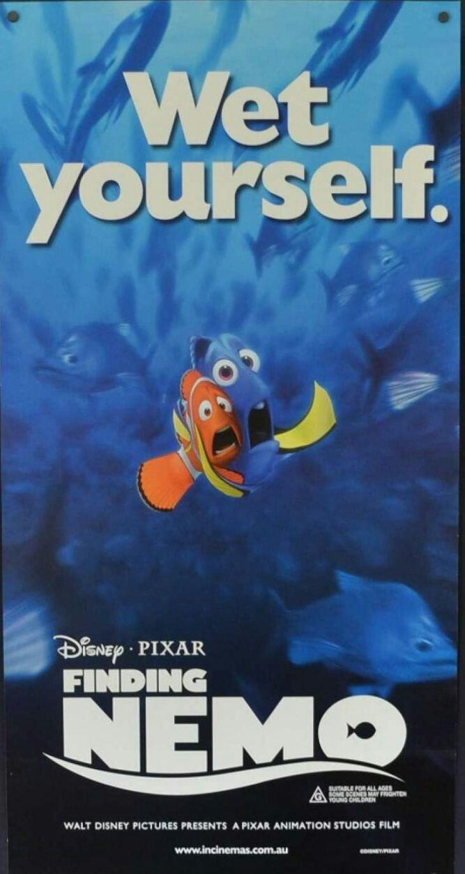 Pin by Stephanie Cook on Disney (With images) | Finding ...  Walt Disney Pictures Presents A Pixar Animation Studios Film Finding Nemo