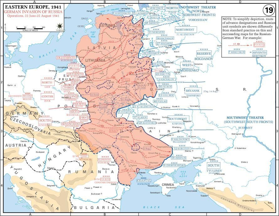 Opening phase of operation barbarossa june 22 1941 the world find this pin and more on the world war ii eastern europe by sylviebacchi gumiabroncs Choice Image