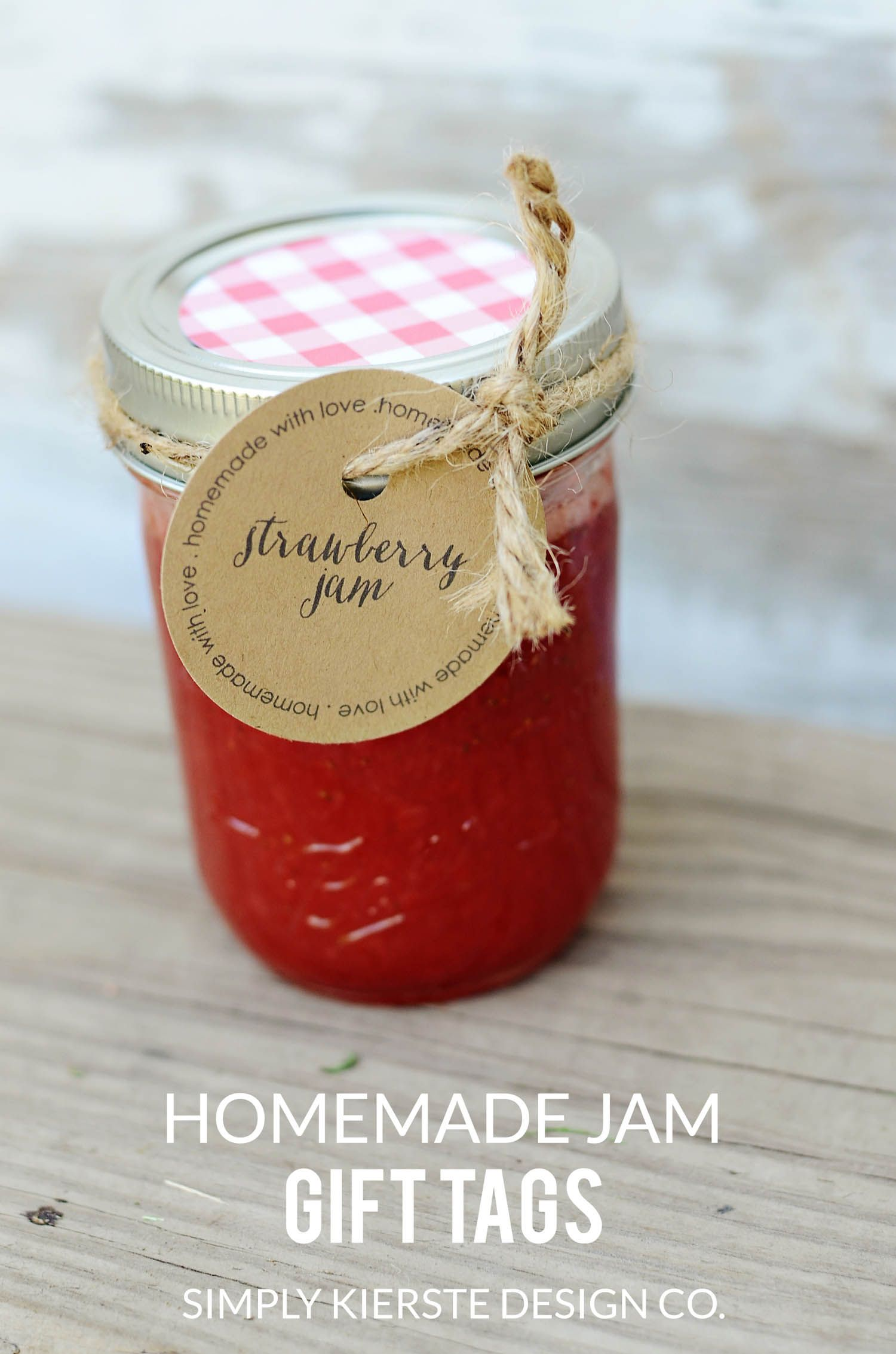 Homemade Jam Printable Labels Old Salt Farm Homemade Jam Homemade Christmas Tags Jam Gift
