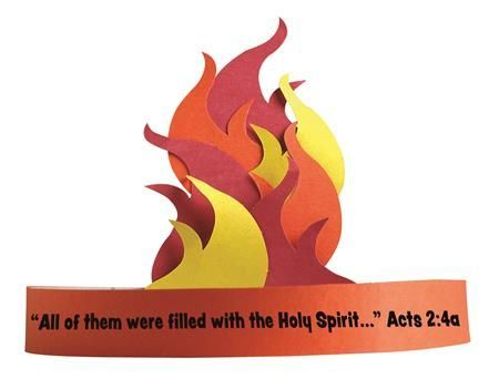 Pentecost flames pentecost pinterest sunday school for Holy spirit crafts for sunday school