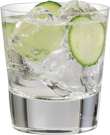 Pearl Spa Spritzer- 1½ oz. Pearl® Cucumber Vodka Club Soda Fresh Cucumber Slices