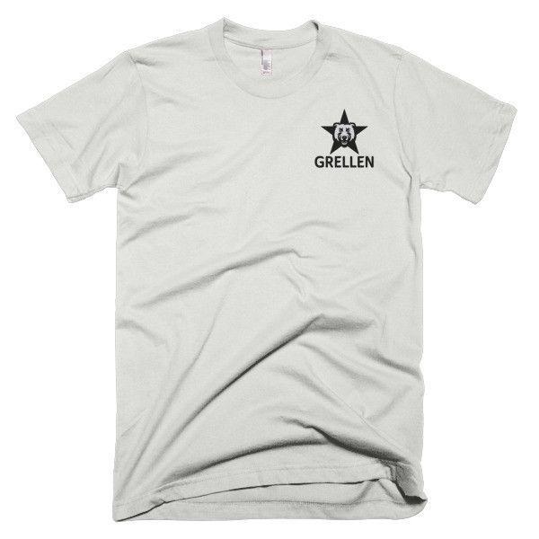 Grellen Chest Star Logo Short sleeve men's t-shirt