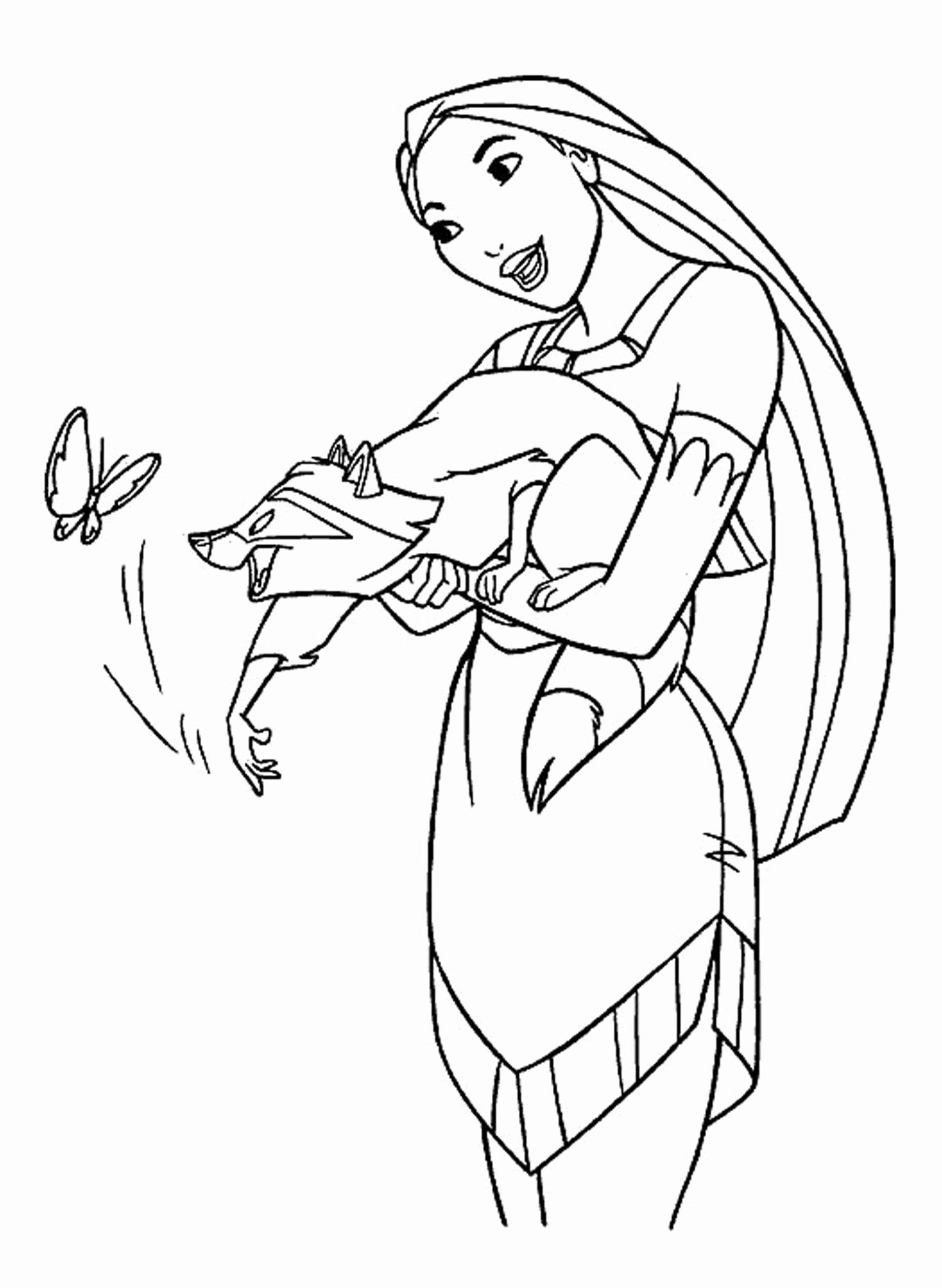 Simple Disney Coloring Pages Luxury Disney Coloring Pages for Your Children  in 2020 | Disney coloring pages, Disney princess coloring pages, Butterfly coloring  page
