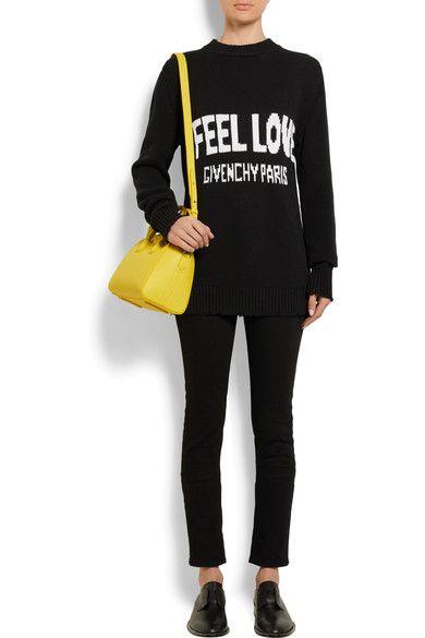 4dc2ccdcf7 Givenchy - Antigona Mini Textured-leather Shoulder Bag - Yellow - one size