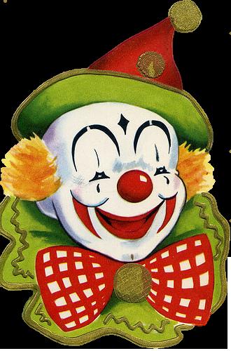 Pin By Stacy Ryzmek On Illus Cuties Cards Clown Paintings Cute Clown Vintage Clown