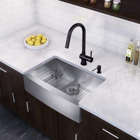 Vigo VG15372 30 inch Undermount Kitchen Sink - with Gramercy Faucet ...