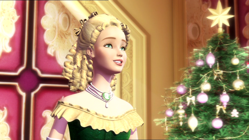 Eden Starling singing Oh, Christmas Tree from Barbie in A