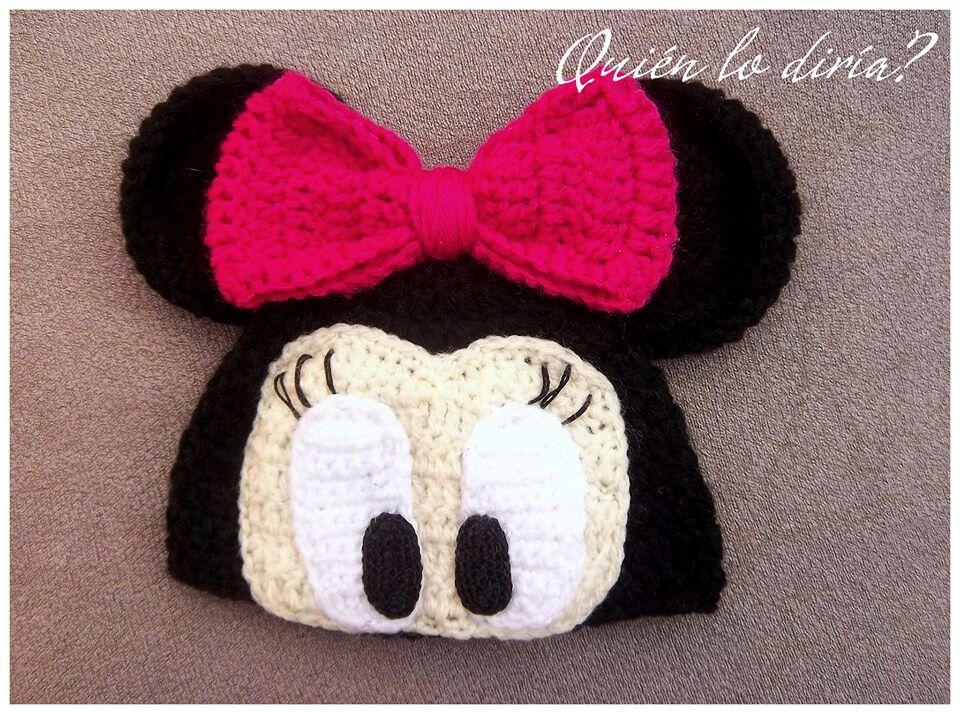 Minnie Mouse Crochet Hat Häkelspaß Häkeln Für Die Familie
