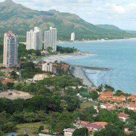 Coronado Beach Aerial View Panama