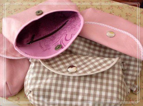 Manualidades moldes para carteras de tela purse bag and - Manualidades de tela ...