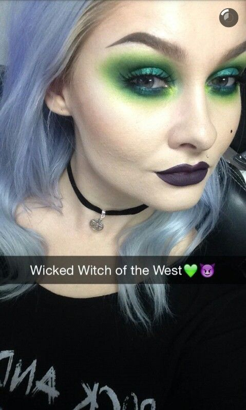 Wicked Witch Of The West Inspired Makeup Beautyhairmakeup 3 In