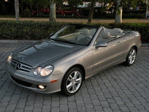 Auto Haus Of Fort Myers Is Offering This 2006 Mercedes Benz Clk350 Convertible With Only 53k Miles For 21 900 It Comes Nicely Equipped A Pewter