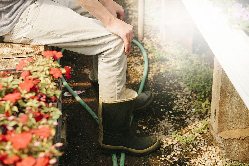 Hunter boots for the garden Garden Pinterest Gardens