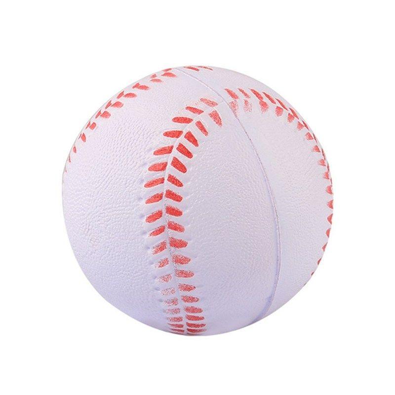 1 Pcs Universal Handmade Baseballs Training Exercise Baseball Ballspvcandpu Upper Soft Baseball Balls Softball Ball Baseball Training Baseball Balls Softball