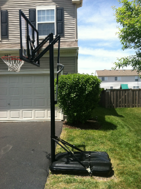 New Product To Anchor Your Portable Basketball Hoop No