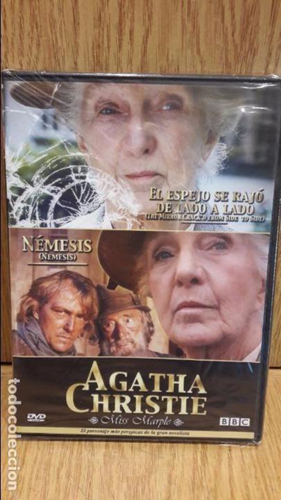 AGATHA CHRISTIE / MISS MARPLE. EL ESPEJO SE RAJÓ DE LADO A LADO / NÉMESIS - PRECINTADO.