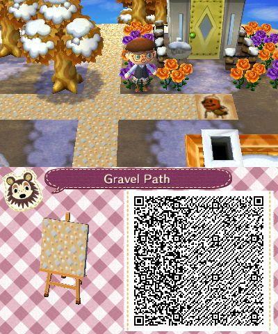 Animal Crossing Gravel Path Qr Code Animal Crossing New