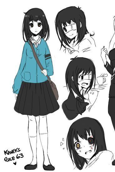 Yuri / GirlxGirl One-shots ♡ - Yandere!Fem!Kaneki Ken x